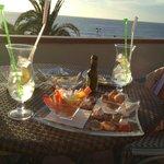 """Sicht aus der """"Lounge-Terrasse"""" / Bar"""