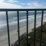 View off of balcony