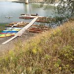 Big River canoe rentals just a short walk away