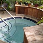 Perfect hot tub temperature