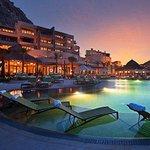 Pedregal Hotel Pool Sunset