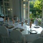 salon et table d'hôte