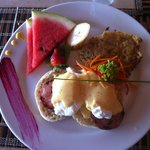 Amazing Casa de los Suenos breakfast
