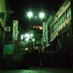 夕食後に伊香保温泉街の大階段まで無料送迎してしてくれました