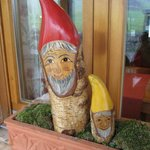 Gnomes in the window