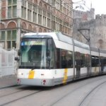 Tramway nearby, for easy access around the city and to the Gent train Station.