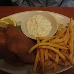 The Fish and Chips dinner