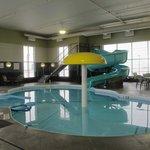 Indoor Pool with Waterslide