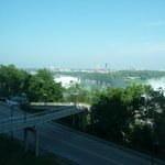 View of American Falls from 6th floor room.
