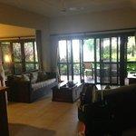 lounge and verandah