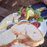 Mediterranean ploughmans platter