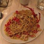 Pasta mit Crayfish