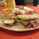 Green eggs & hamwich