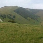 hills above Ulwell Cottage