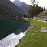 Balade autour du lac Champex