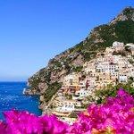 Beautiful view in Positano