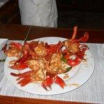 Yummy crayfish for dinner