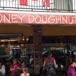 honey doughnut place off main street right by cover