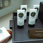 Lanvin's shampoo & conditioner