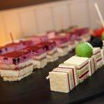 deeltje van ons dessertenbuffet