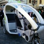 Riksha Ride in Prague