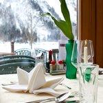 Abendessen im Café-Restaurant Klingler