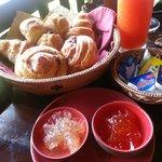 delicious bread basket