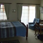 Comfy beds & spacious room