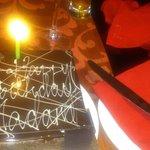 my yummy bday cake