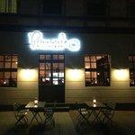 At night at the Principale Pizzabar