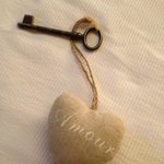 Romantic Room Key