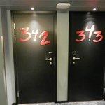 Porte delle camere