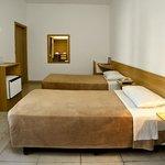 Quarto duplo superior com 2 camas de solteiro