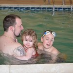 Family Fun in The pool area