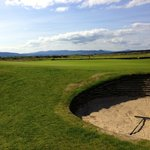 On the back nine of the Struie course at Royal Dornach.