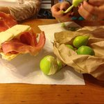 Fresh figs and prosciutto Florence for Foodies
