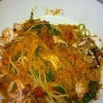 spaghetti boutargue fruits de mer
