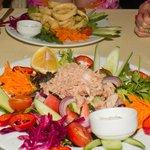 Tuna Salad starter, lovely presentation