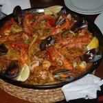 paella de mariscos deliziosa