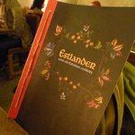 Estlander menu
