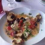 Lunch special. Delicious fish.