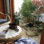 The little garden with the tsukubai