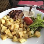 Tender steak!