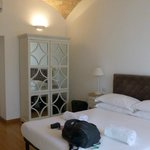 Unser Zimmer | double room with the Colosseo view