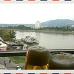 Beer and view