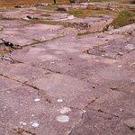 Concrete floor remains