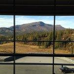 Utsikt från ett av hotellets härliga ställen