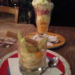 Amarula ice cream & Coupe Pilansberg