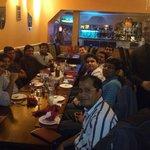Mr.Narayan with Citi Group friends