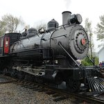 Locomotive #70, it rained hard this day but the train was still sold out.